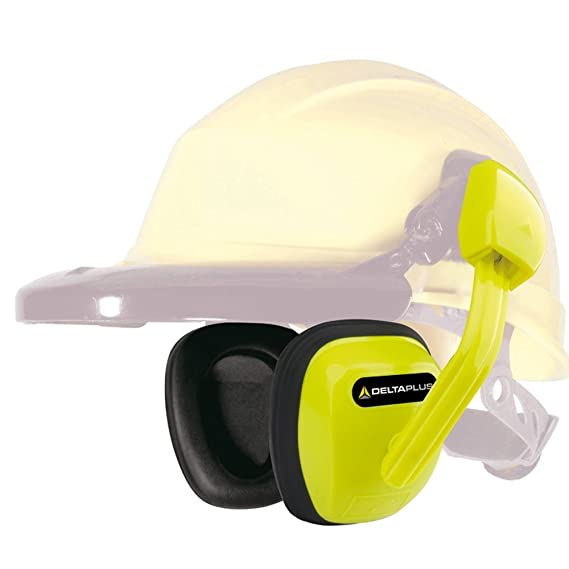 Delta plus - Antiruido suzuka2 para casco snr 27db amarillo