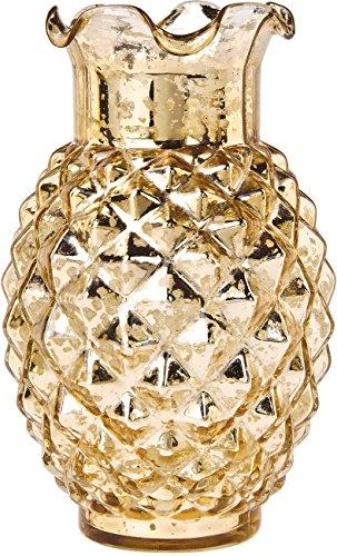 Bazaar Vintage Mercury Ruffled Pineapple