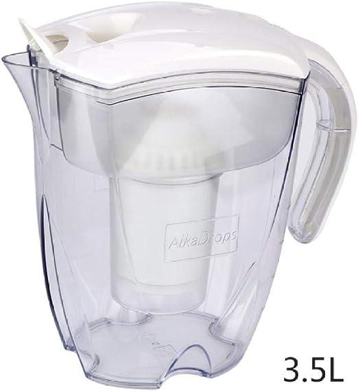 Zixin 3.5 litros de Filtro purificador de Agua la Caldera, la Caldera de carbón Activado Home Office Bebidas Purificador de Agua Purificación de Agua Calidad-White (Color : White): Amazon.es: Hogar