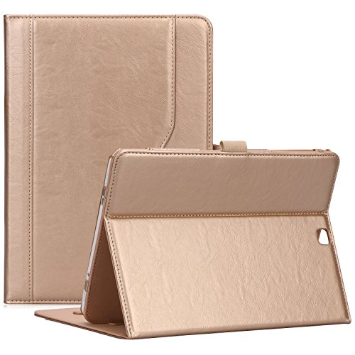ProCase Samsung Galaxy Tab S2 9.7 Case, Stand Folio Cover Case for Galaxy Tab S2 Tablet (9.7 Inch, SM-T810 T815 T813) - Gold