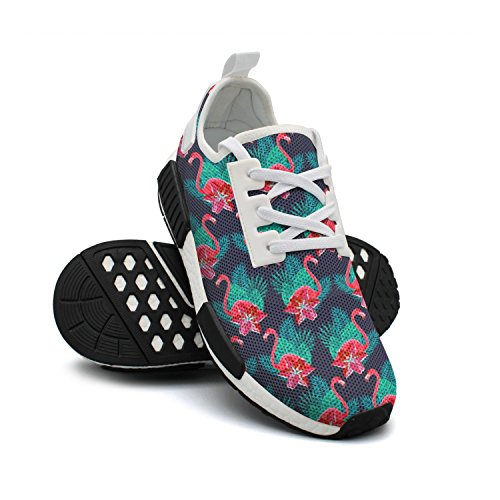 Fashion Breathable Original Flamingo Colorful Womens Shoes Sneaker Lightweight Tennis Mesh Lilies FAAERD XZdqCwx0Z