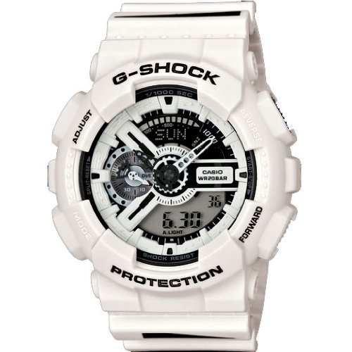G Shock Maharishi Watch White GA 110MH 7ACR