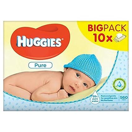 Huggies Puro Bebé Toallitas De 10 X 56 Por Paquete