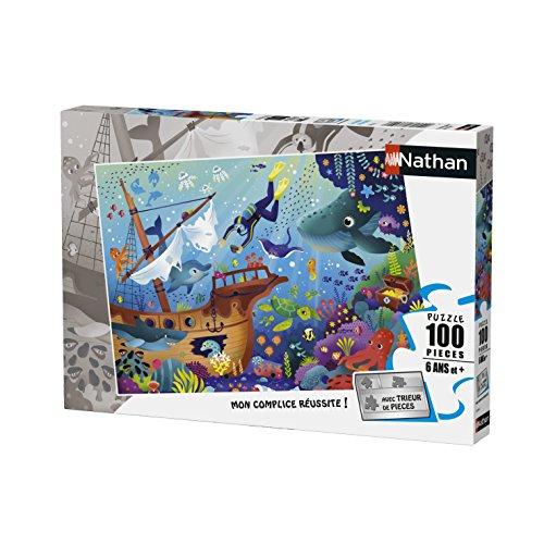Nathan Puzzle le Monde sous-Marin 100 Pièces, 86765
