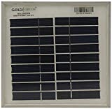 GOLDI GREEN 3 W Solar Panel (White)