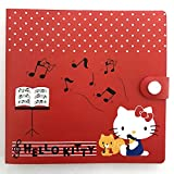 Sanrio Helloy Kitty Music Notes Piano 12 CD / DVD Case