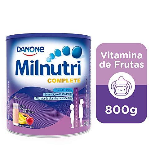 Suplemento Infantil Milnutri Complete Vitamina de Frutas Danone Nutricia 800g