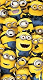 Despicable Me Minion foule plage serviette 100 % coton
