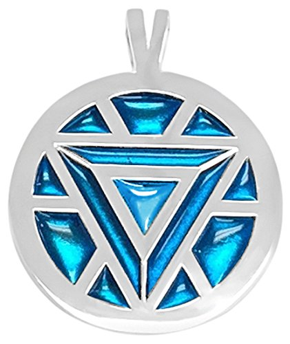 Amazon marvels iron mans arc reactor necklace turqouise toys marvels iron mans arc reactor necklace turqouise aloadofball Image collections