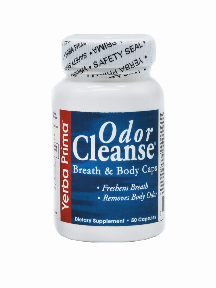 Odor Cleanse - Breath and Body - 50 caps