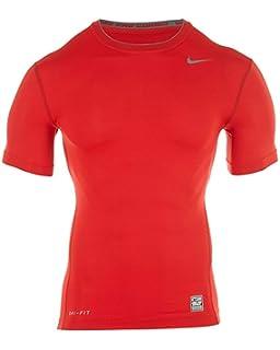 38fecb7b Amazon.com: Nike Mens Pro Combat Tight Compression Short Sleeve Tee ...