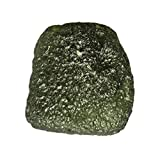 23 Cts Natural Green Moldavite from Czech Republic, Jewelry Making Gemstone,Calibrated Cabochon AG-6090
