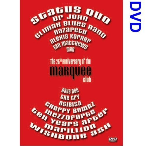 The 25th Anniversary Of The Marquee Club [DVD]