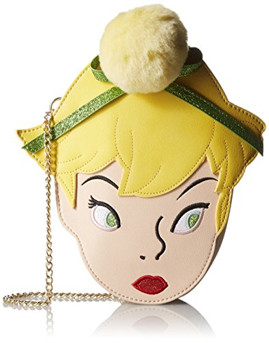 Disney by Danielle Nicole Saddle Crossbody Tinker Bell (Peter Pan) Borse