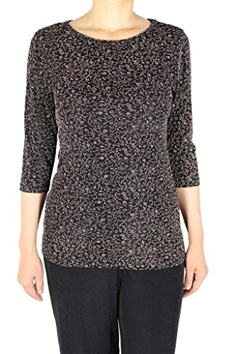 calison-womens-print-slinky-quarter-sleeve-jewel-neck-top-for-casual-wear-1x-large-gold