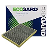 ECOGARD XC35448C Cabin Air Filter with Activated Carbon Odor Eliminator - Premium Replacement Fits Buick LeSabre / Cadillac DeVille / Buick Lucerne / Cadillac DTS / Pontiac Bonneville