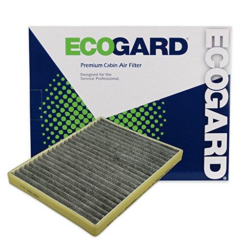 ECOGARD XC35448C Cabin Air Filter with Activated Carbon Odor Eliminator - Premium Replacement Fits Buick LeSabre / Cadillac DeVille / Buick Lucerne / Cadillac DTS / Pontiac Bonneville