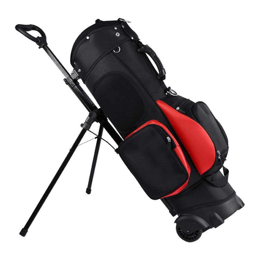 ゴルフカートバッグ 多機能ゴルフバッグダブルショルダーデザインゴルフ首都スタンドバッグ付きブラケットプーリーは13クラブを保持することができます スポーツファンゴルフ用品 (色 : C1, サイズ : 123*19.5*23cm) 123*19.5*23cm C1 B07SPXD9PC