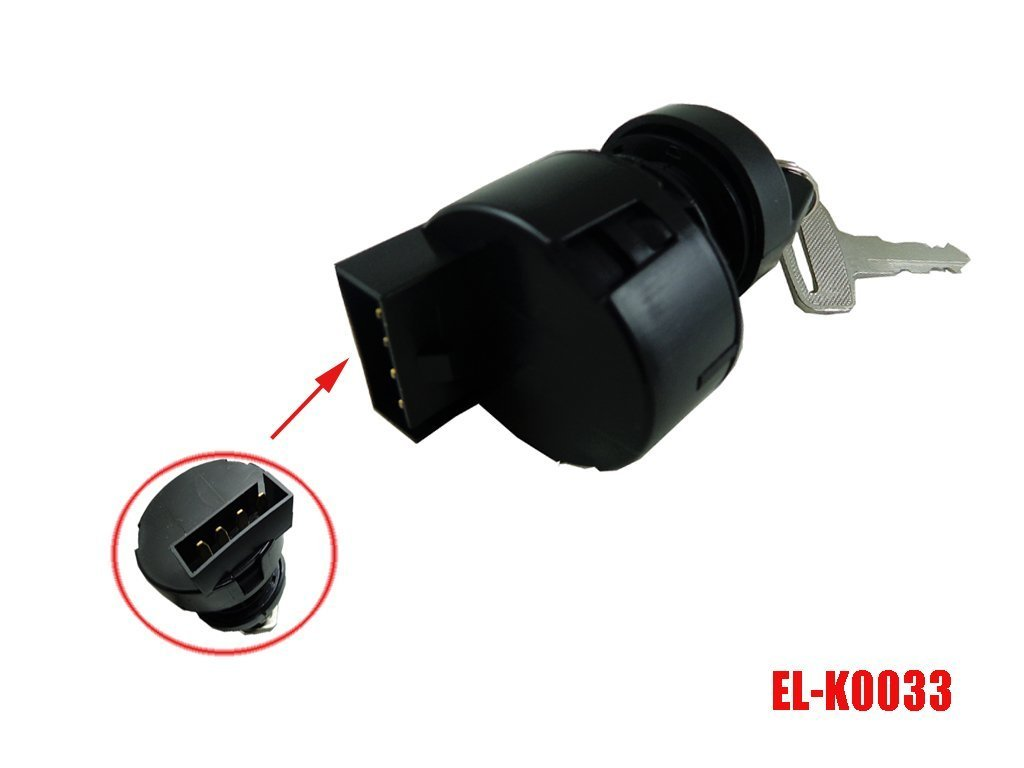 Amazon.com: On-Off Ignition Key Switch for Can-Am 330 400 Rally 175 2X4 4X4  MAX STD XT 2003-2008: Automotive