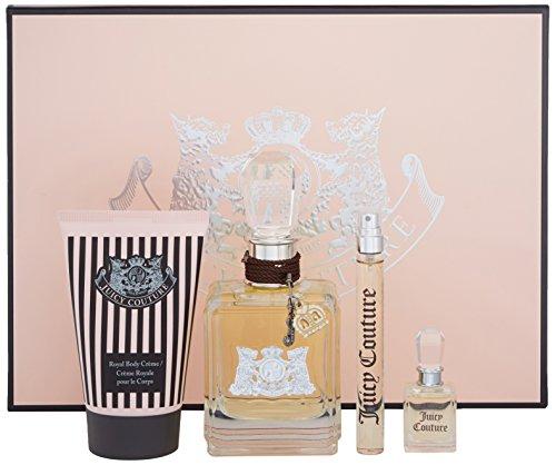 Juicy Couture 4 Piece Perfume Gift Set - Juicy Crown