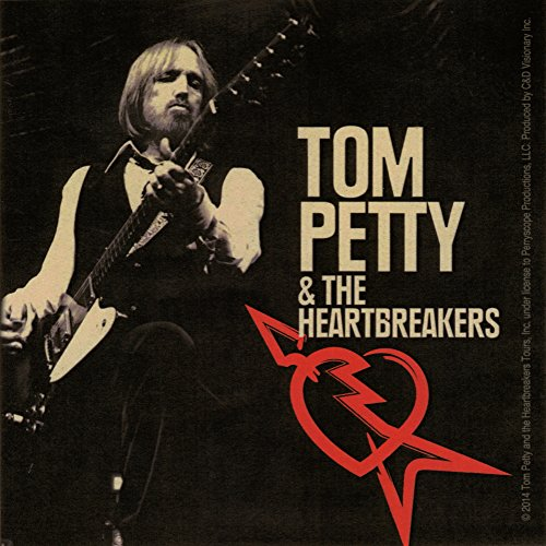 Price comparison product image Tom Petty & The Heartbreakers Rock Band Music Bumper Sticker / Decal by Superheroes Brand