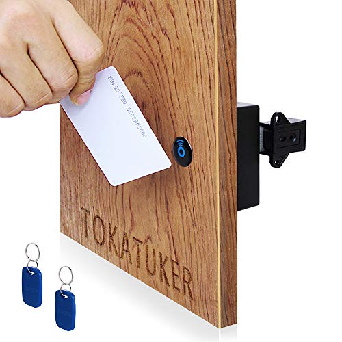 Tokatuker Electronic RFID Locker Lock for Home Office Private Drawer Wardrobe Cabinet Lock