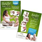 Save The Moment Deluxe Inkless Wipe Hand and Foot Print Kit