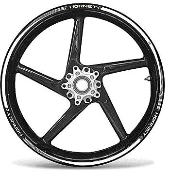 SET TIRAS ADHESIVO para ruedas 17 compatible MOTO HONDA AVISPÓN pegatinas tuning: Amazon.es: Coche y moto