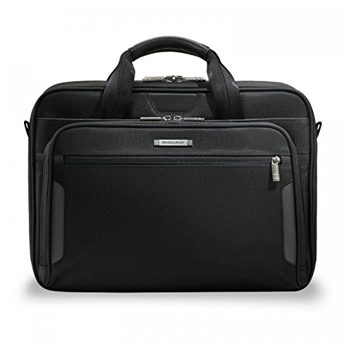 Briggs & Riley @ Work Luggage Medium Brief, Black by Briggs & Riley