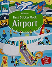 Airports First Sticker Book by Sam Smith