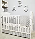 American Baby Company 100% Cotton Tailored Bed