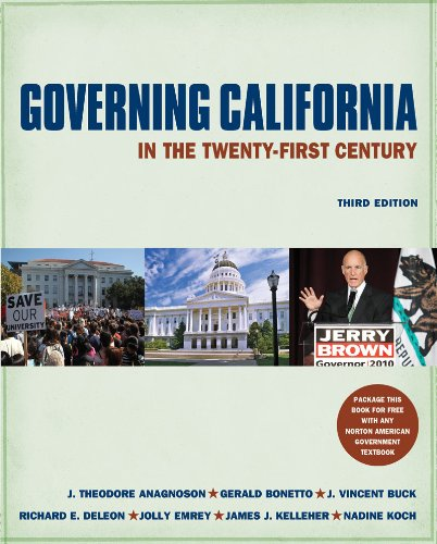 Governing California in the Twenty-First Century (Third Edition)