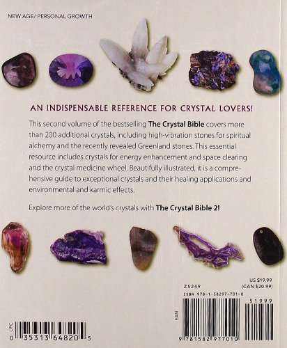 The Crystal Bible 2: Judy Hall: 9781582977010: Amazon com: Books