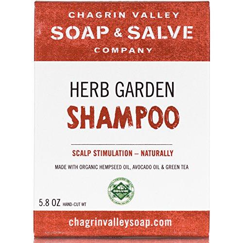 Chagrin Valley, Shampoo Bar Herb Garden, 5.8 Ounce