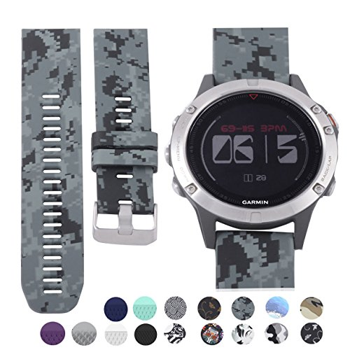 allbingo fenix 5 cute band quick release fit 22mm watch. Black Bedroom Furniture Sets. Home Design Ideas