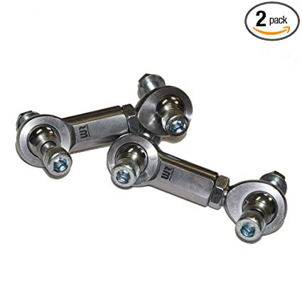 Amazon.com: Weller Racing WR Edition Front Sway Bar Link Set - 2017 2018 Can Am Maverick X3 Turbo XRS XDS XRC: Automotive