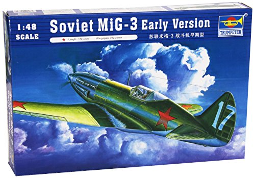 Early Version Fighter (Trumpeter 1/48 MiG3 Early Version Soviet Fighter Model Kit)