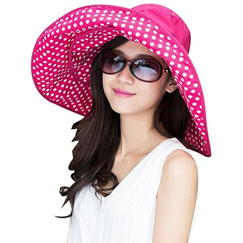 Large Rose Sun Hat - 3