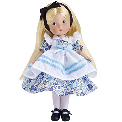 PHYN & AERO LLC Alice In Wonderland Nancy Ann Doll Limited Edition Bisque Porcelain w/ Stand