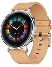 HUAWEI Watch GT 2, 15 Workout Modes & Full-time Fitness Trainer, 42mm - Beige