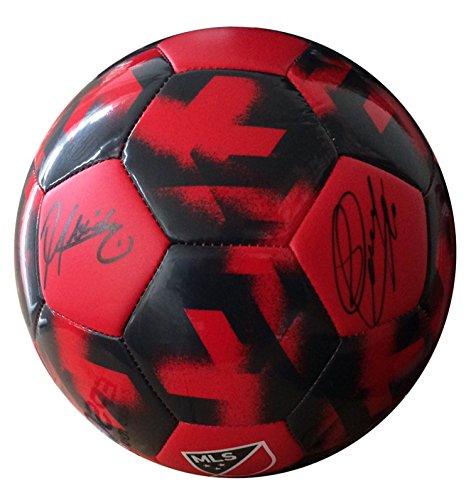 Frameworth Sebastian Giovinco/Jozy Altidore Dual-Signed Ball Toronto FC ()