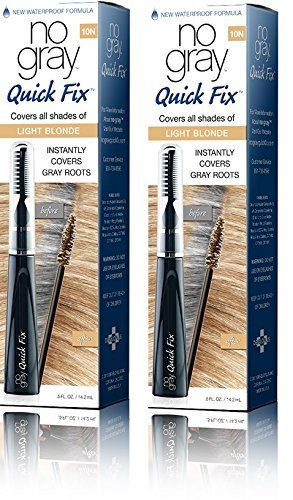 No Gray Quick Fix Instant Touch-Up for Gray Roots (Set of 2, Light Blonde) by No Gray