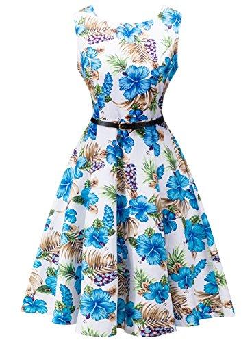 50s print dresses - 8
