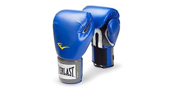 Everlast Pro Style guantes de entrenamiento - 1200012, Azul: Amazon.es: Deportes y aire libre