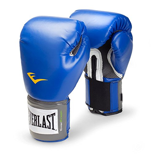 Everlast 2214 Pro Style Training Gloves (Blue, 14 oz.)