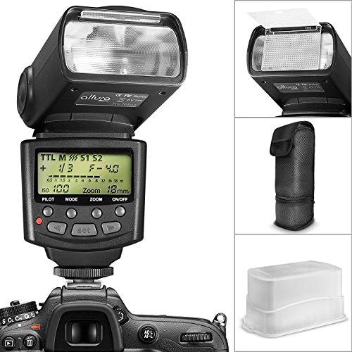 Altura Photo Professional I-TTL Auto-Focus Dedicated Flash (AP-N1001) for NIKON DSLR Cameras including D3200 D3100