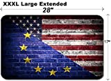 MSD Large Table Mat Non-Slip Natural Rubber Desk Pads Image 30122569 A Concept of The Partnership Between The EU and America