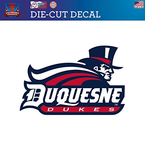 UPC 717520820413, Duquesne University Dukes Die-Cut Vinyl Decal Logo 1 (Approx 6x6)