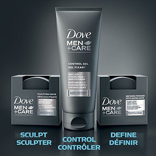 Dove Men+Care Styling Aid Hair Product Medium Hold Sculpting Hair Paste Hair Styling for a Textured Look With A Matte… 2