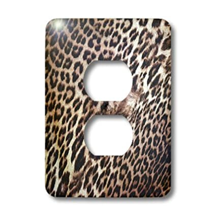 3dRose lsp/_38027/_6 Exotic Leopard Animal Print-Nature 2 Plug Outlet Cover